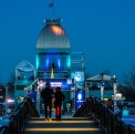 Bonsecours Basin in the early evening