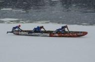 Ice Canoe Challenge Montreal