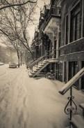 McGill Ghetto in the snow