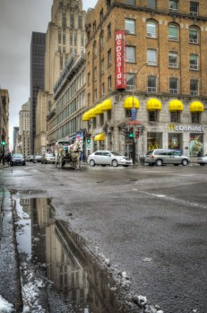 Reflections on rue Notre-Dame