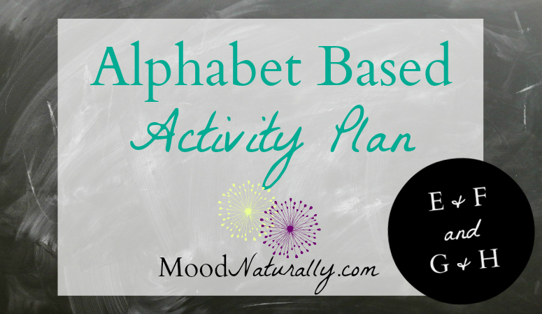 Alphabet Based Activity Plan - EFGH