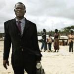 Man on Bar Beach. Lagos.Nigeria