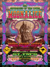 4/19/15 Moonalice / Doobie Decibel System poster by Dennis Loren