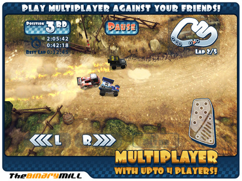 Mini Motor Racing HD – 超高質感的 iPad 賽車遊戲