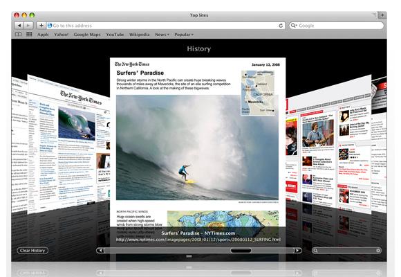 safari 5.1.5 最快速的瀏覽器