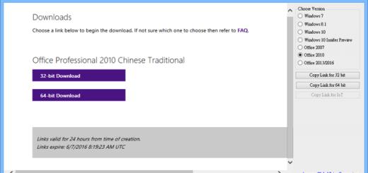 Windows 7/8/10 官方光碟映像檔下載 - Windows ISO Downloader