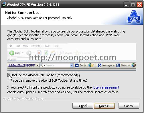 alcohol 酒精虛擬光碟程式