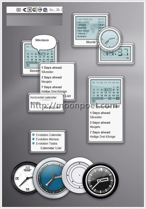 行事曆軟體 rainlendar