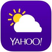 yahoo氣象app 超漂亮的世界象氣預報程式