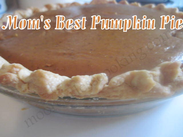 Mom's Best Pumpkin Pie