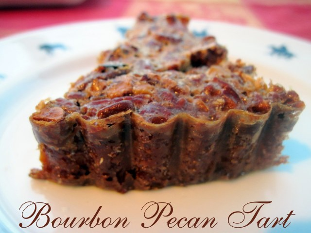 Pecan and Bourbon Tart and a HOLIDAY GIVEAWAY!!