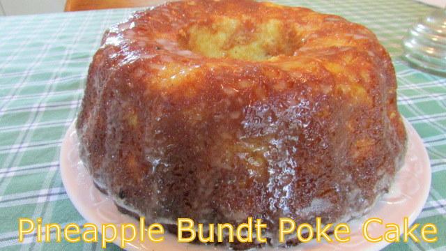 Pineapple Poke Cake Bundt