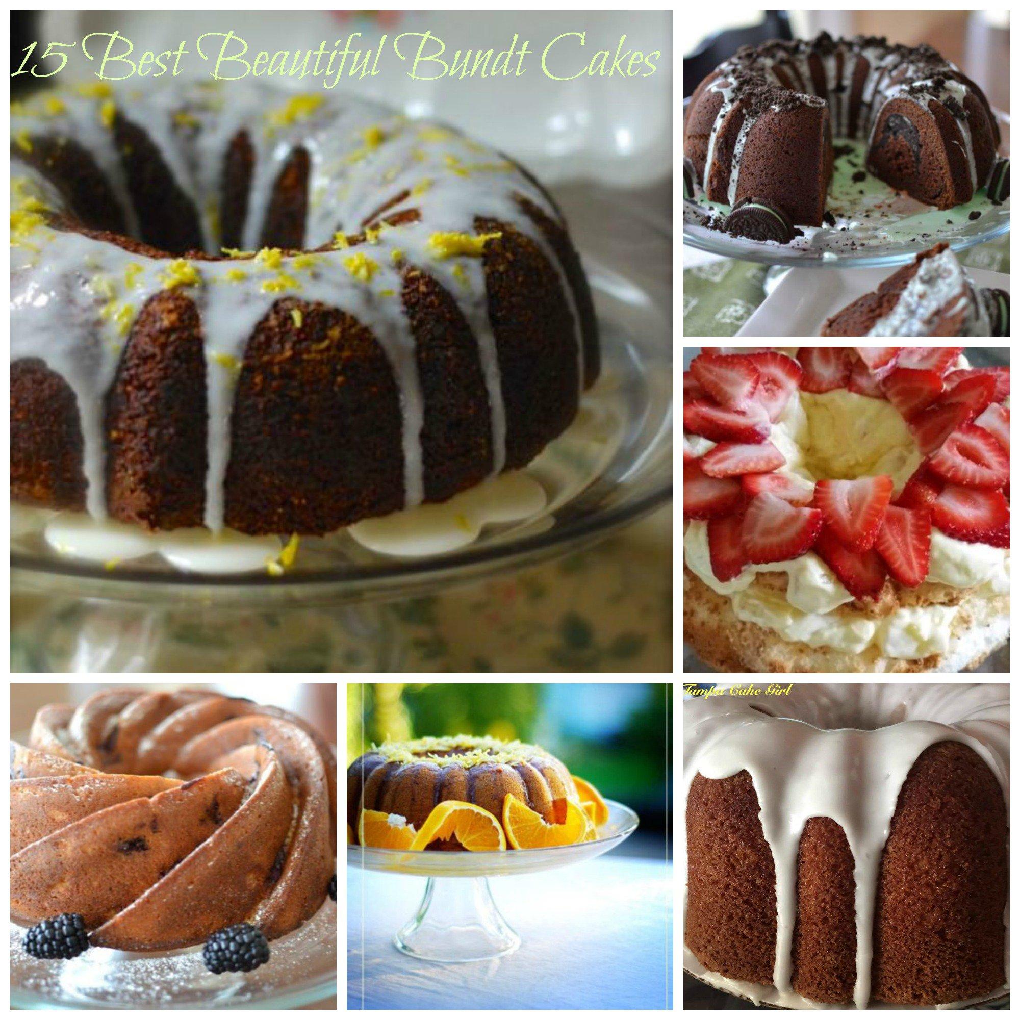 15 Sensational Bundt Cakes