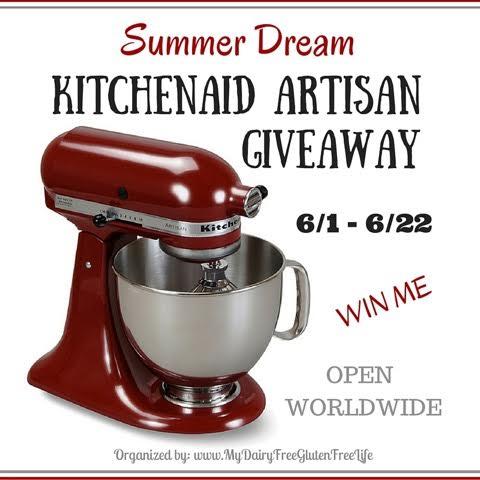 Summer Dream 5 Quart KitchenAid Artisan Giveaway!