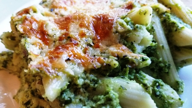 Green Goddess Mac and Cheese #SundaySupper
