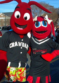 Conrad & Candy Crawdad