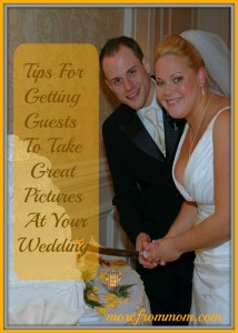 how to get your guests to take great wedding photos