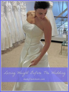 Losing Weight Before Your Wedding