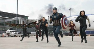 Marvels CAPTAIN AMERICA CIVIL WAR Playing in theaters NOW!!!