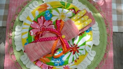 polka dot picnic