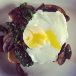 MTT: Spinach, Mushrooms and Egg
