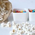 DIY Family Movie Night Popcorn Bar