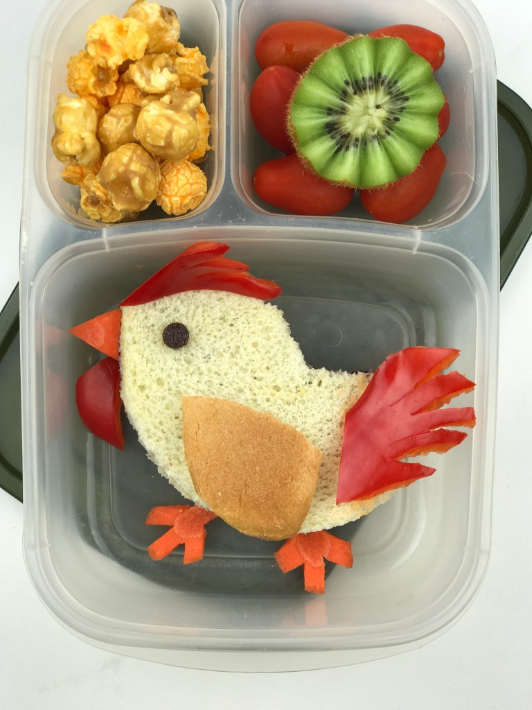 Celebrate Chinese New Year, and the Year of the Rooster with this Rooster Bento Lunch
