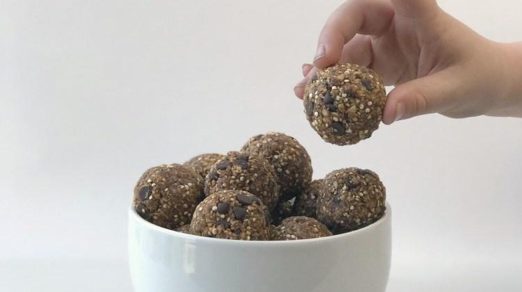 {RECIPE} Chocolate Quinoa Energy Bites