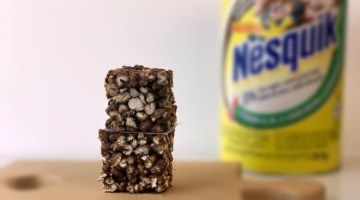Nesquik puffed wheat squares