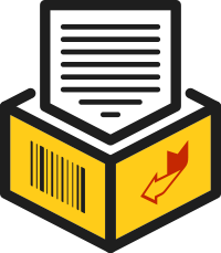 Secure Document Archive Icon