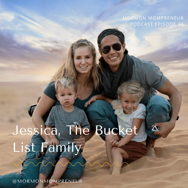 "Episode #33 – Jessica Gee ""Settie"" from Bucket List Family"