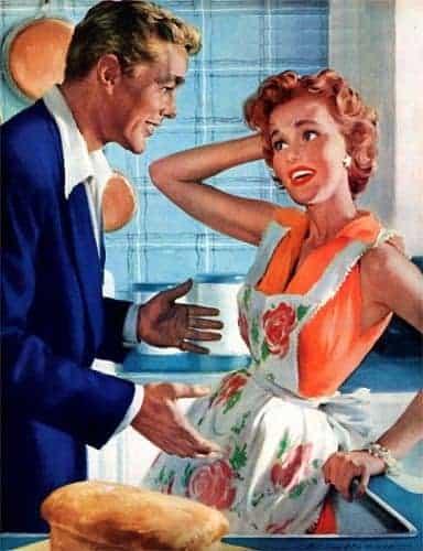 Kvinderne tilbage til kødgryderne…!!!