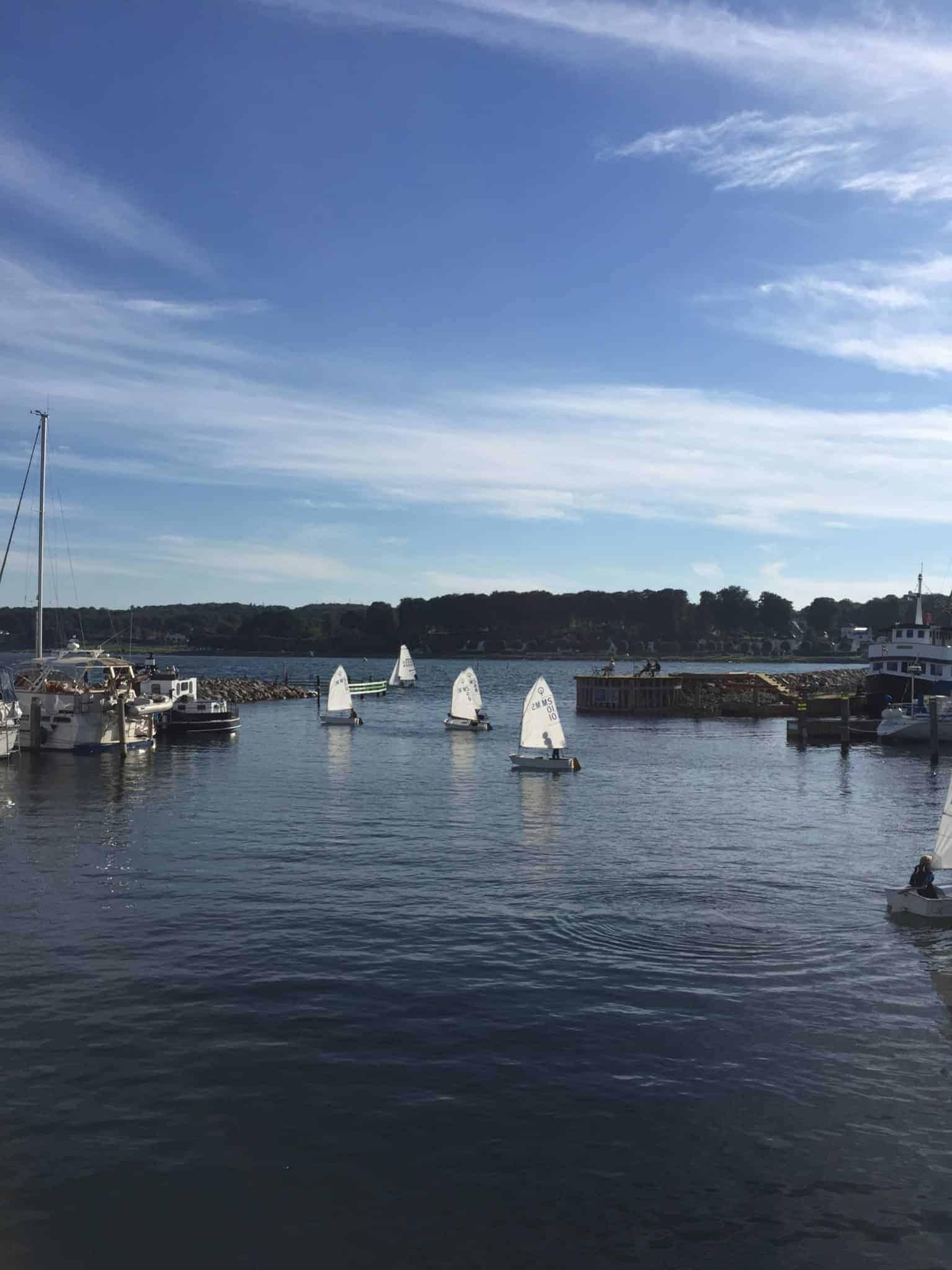 Torsdagsliv i Marselisborg Havn…