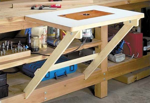 39 free diy router table plans ideas that you can easily for Home built router