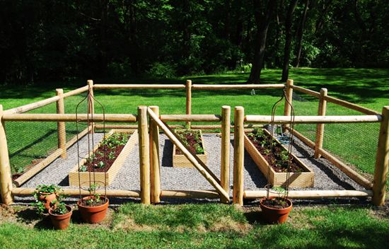 this is another design for a vegetable garden fence it is gorgeous in appearance however it also looks to be very sturdy as well