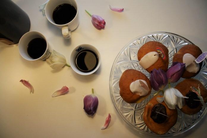 Morogmor blog - fastelavnsboller og kaffe