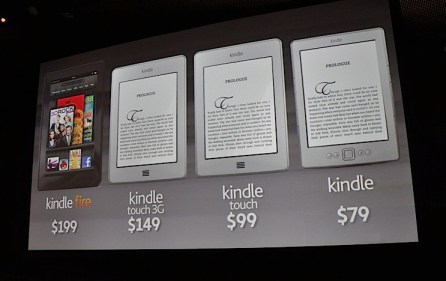 The new Kindle family