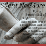 Dying persons rights