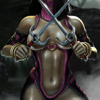 Never before Mileena looked so hot!