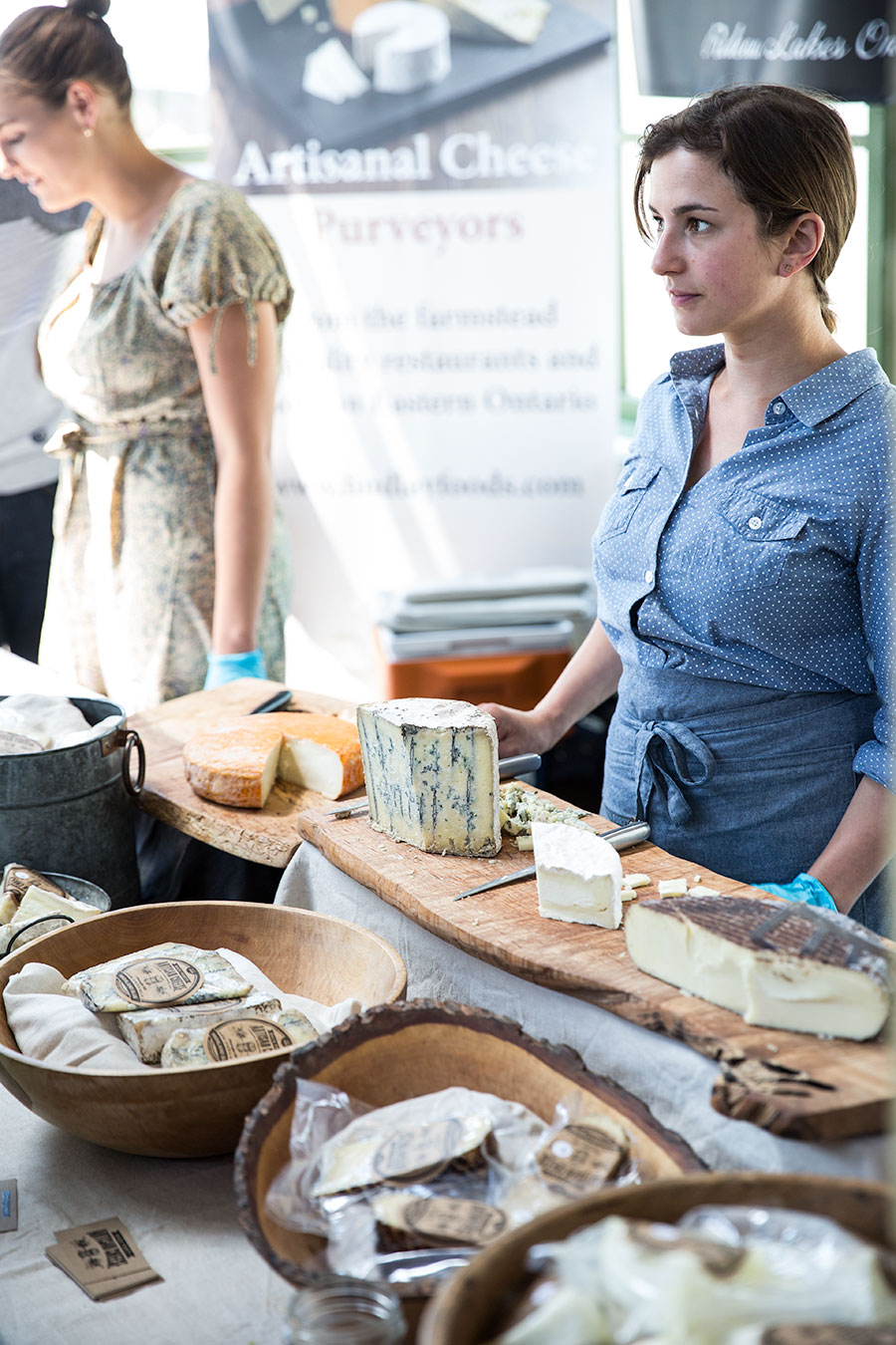 Jenna Fenwick of Back Forty Artisan Cheese.