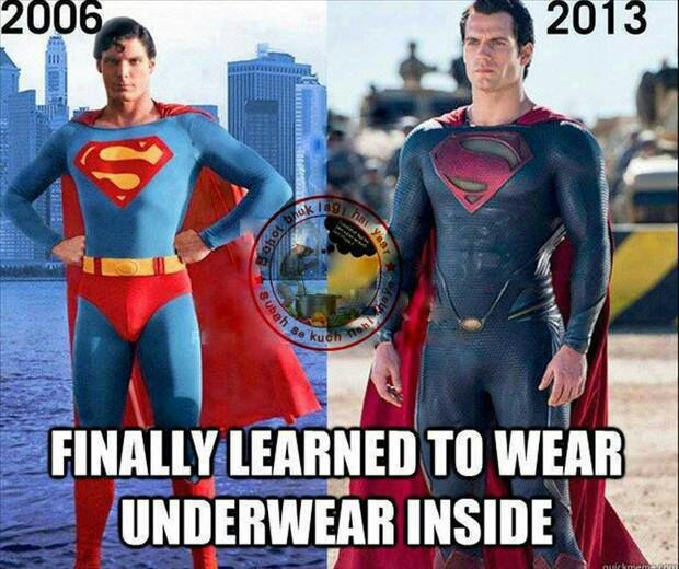 Superman 2006 vs Superman 2013 Superman 2006 2013