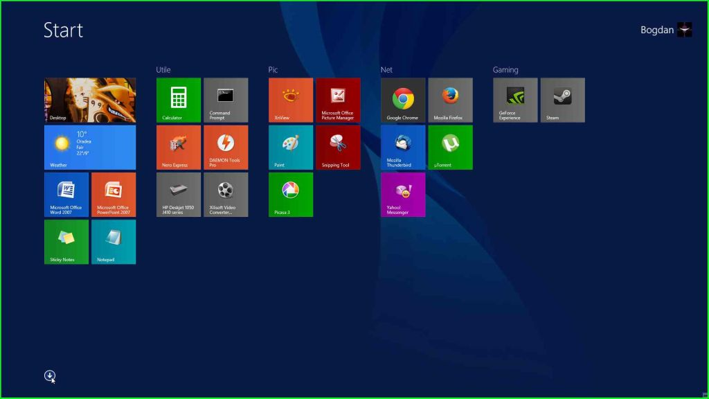 Windows 8.1 Backround start