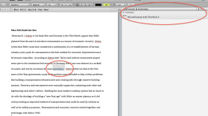 Scrivener makes a Footnote