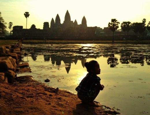 Girl, Angkor Wat, Cambodia