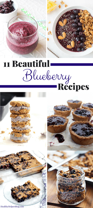 blueberry recipes, dessert recipes, healthly recipes