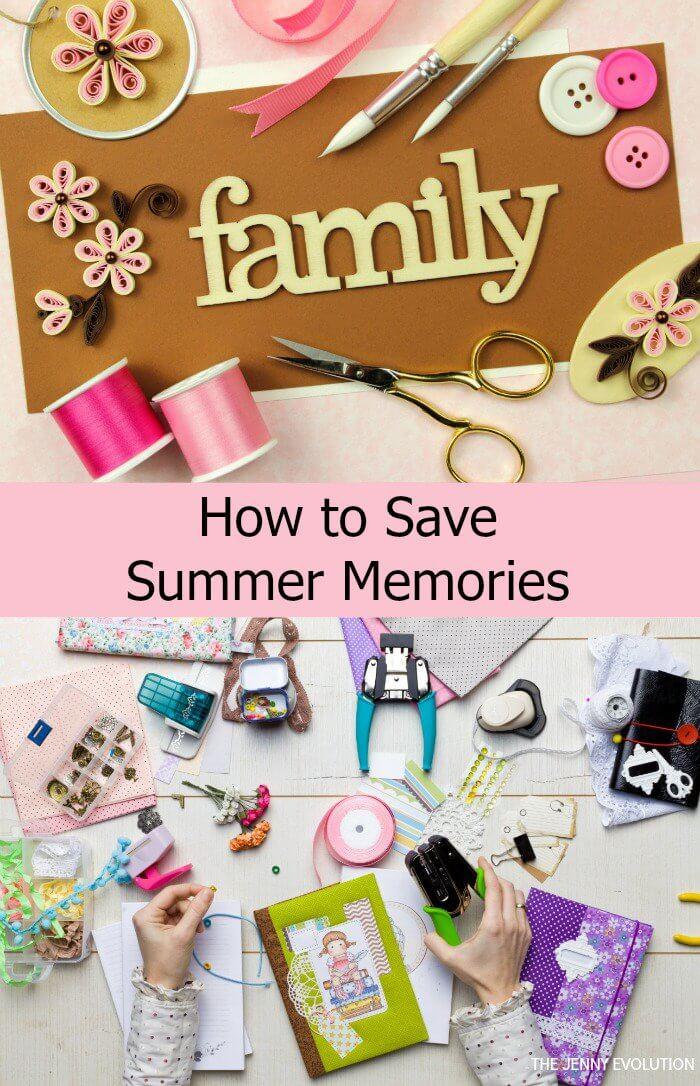 scrapbook ideas, memory box ideas
