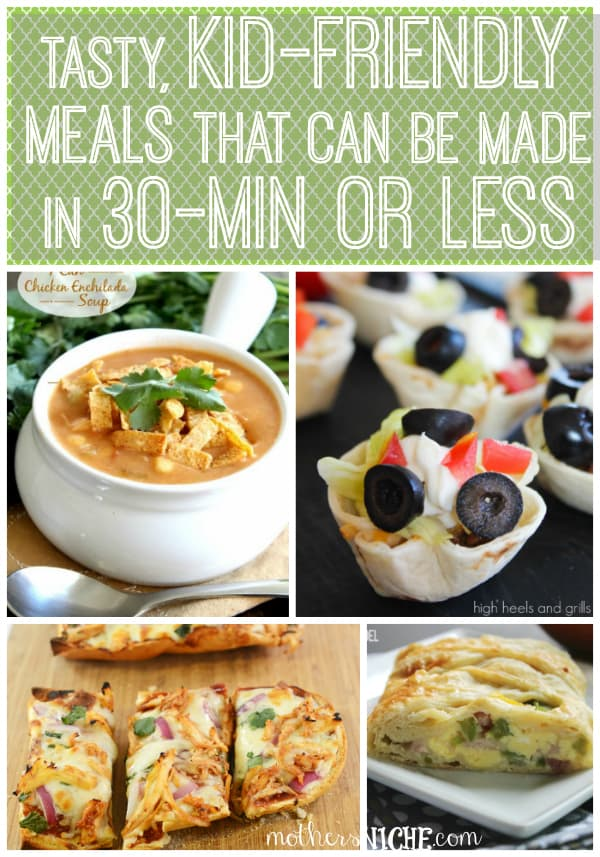 tasty meals in 30 min or less