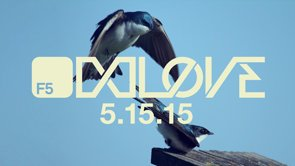 The beloved F5 festival is returning! Save the date for May 5, 2015 and get ready to feel the love.