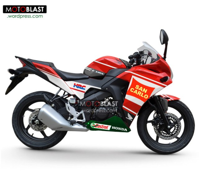 modif-stiping-honda-cbr150R-RED