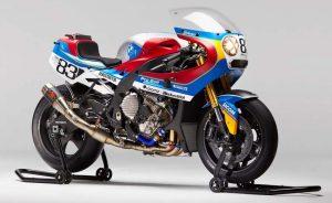 Modifikasi BMW S1000RR Racing Custom klasik tahun 80 an